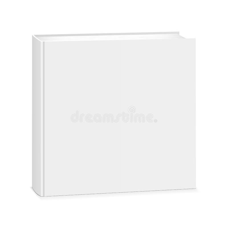 Lege vierkante boekdekking royalty-vrije illustratie