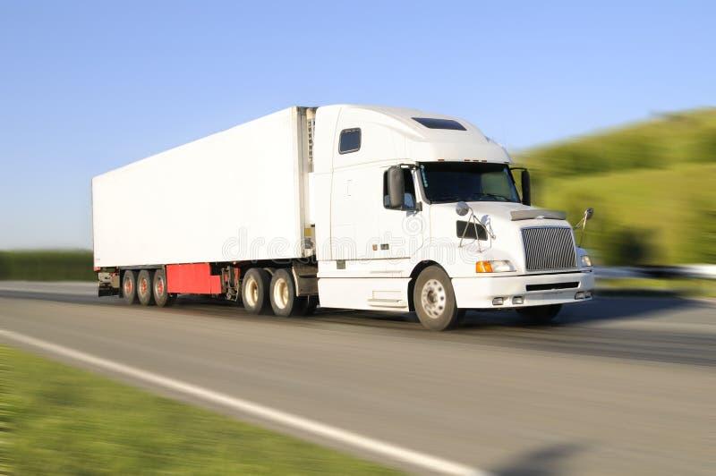 Lege vrachtwagen stock afbeelding