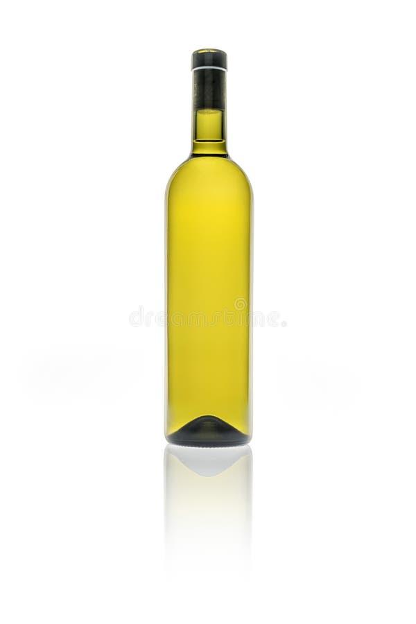 Lege wijnfles royalty-vrije stock fotografie