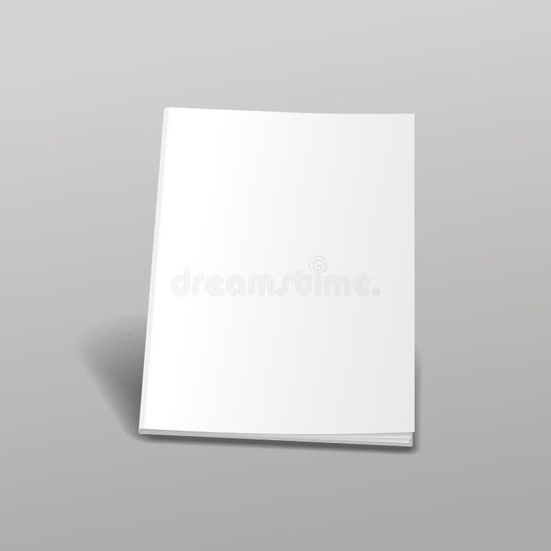 Lege witte boeken vector illustratie