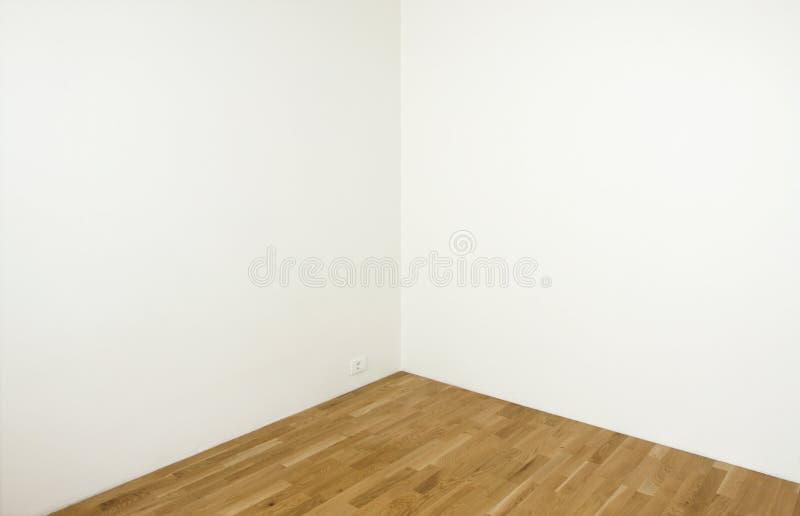 Lege witte muren stock afbeeldingen
