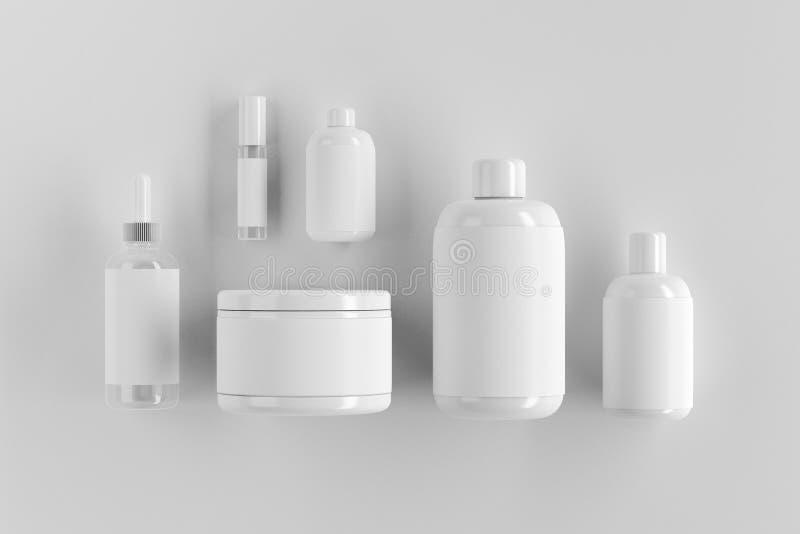 Lege witte verpakking vector illustratie