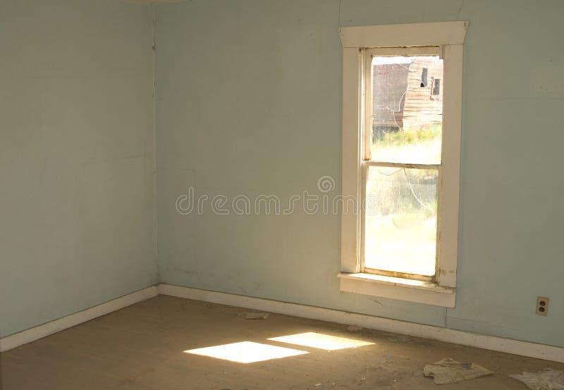 Lege Zaal, Verlaten Huis stock afbeelding