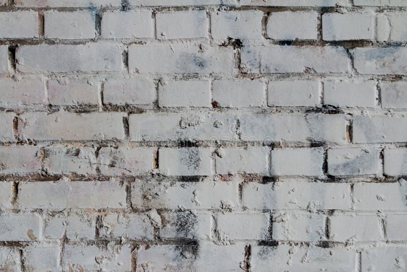 Legen horizontaler Hintergrund brickwall Beschaffenheit des weißen Ziegelsteines des Wandhintergrundes alten grungy Steine in den stockfotografie