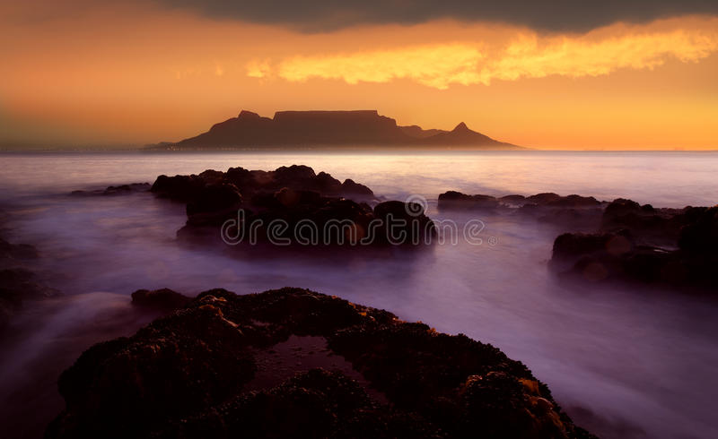 Tabellen-Berg, Cape Town lizenzfreie stockfotos