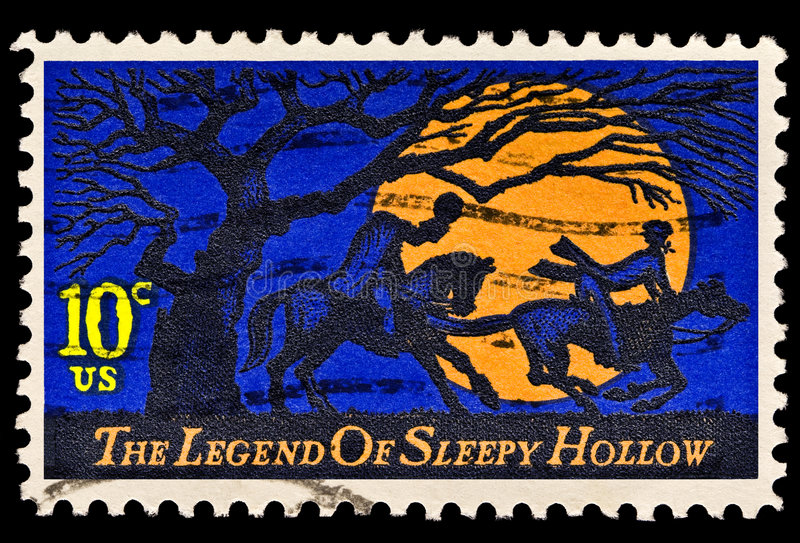 The Legend of Sleepy Hollow Issue royalty free stock photo