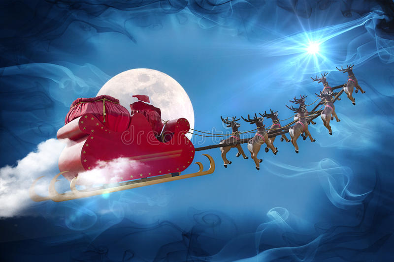 Legenda de Santa Claus imagem de stock royalty free