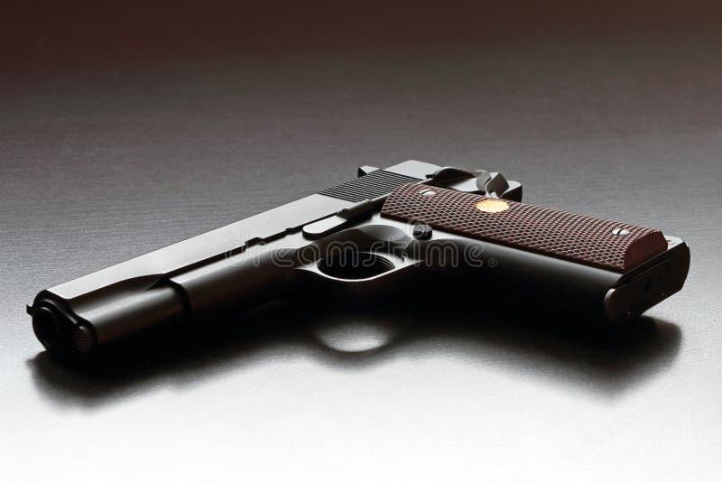Legendarisch het kaliberpistool van de V.S. .45. stock foto's