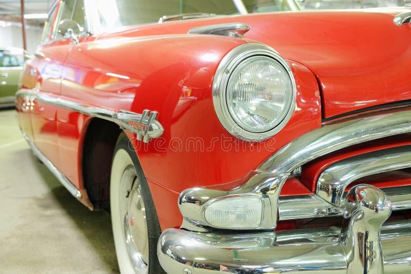 legendarnego rocznika samochodów Hudson Amerykański szerszeń zdjęcia stock