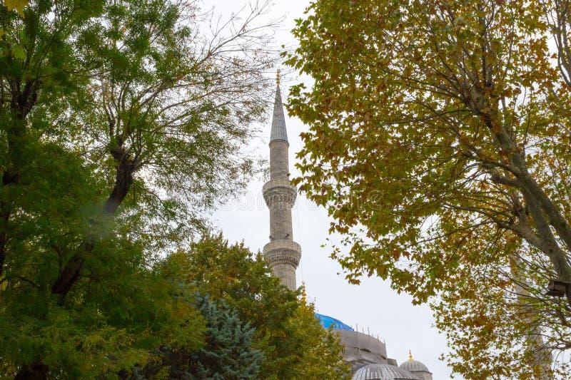 Legendarny błękitny meczet w Istanbuł fotografia stock