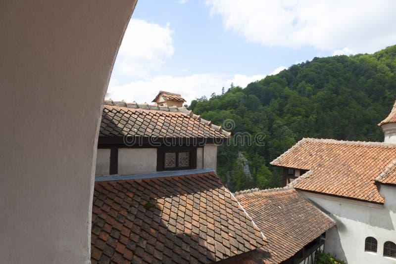 Legendary Castle, Dracula Residence in Transylvania, Romania stock image