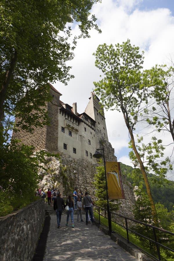 Legendary Castle, Dracula Residence in Transylvania, Romania royalty free stock photography