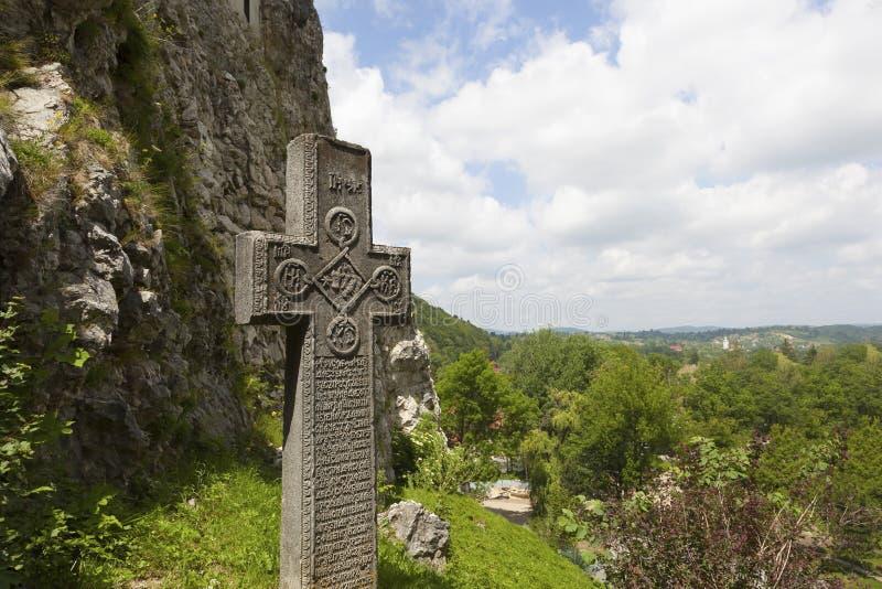 Legendary Castle, Dracula Residence in Transylvania, Romania stock images