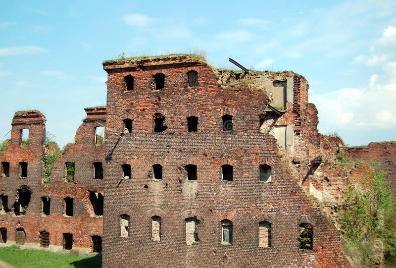 Legendary fortress Oreshek. Shlisselburg town, Leningrad region, Russia. The fortress is under protection of UNESCO. Historical place for tourists and travelers stock photos