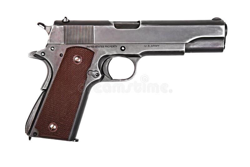 Legendary U.S. Army handgun. royalty free stock images