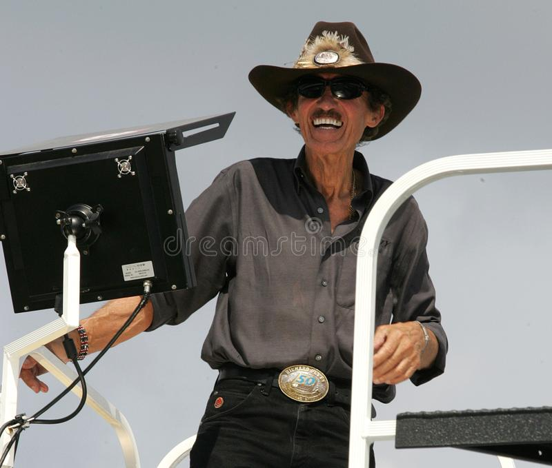 Legende Richard Petteys NASCAR stockfoto