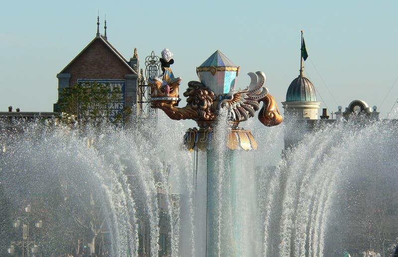 Legenden av den Mythica showen på den medelhavs- hamnen för Tokyo Disney hav arkivbild