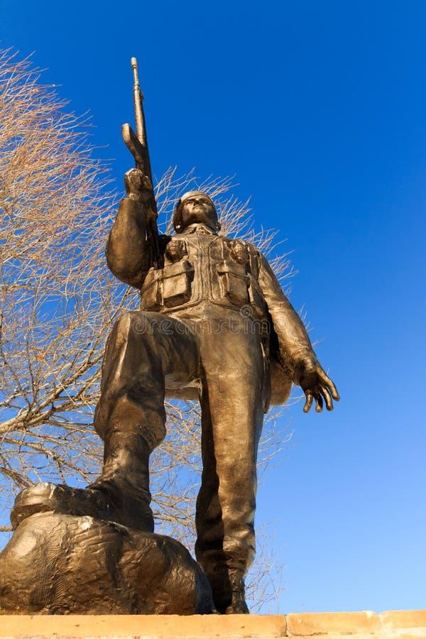 1919 legenden av Kars och monumentskulptur royaltyfria bilder