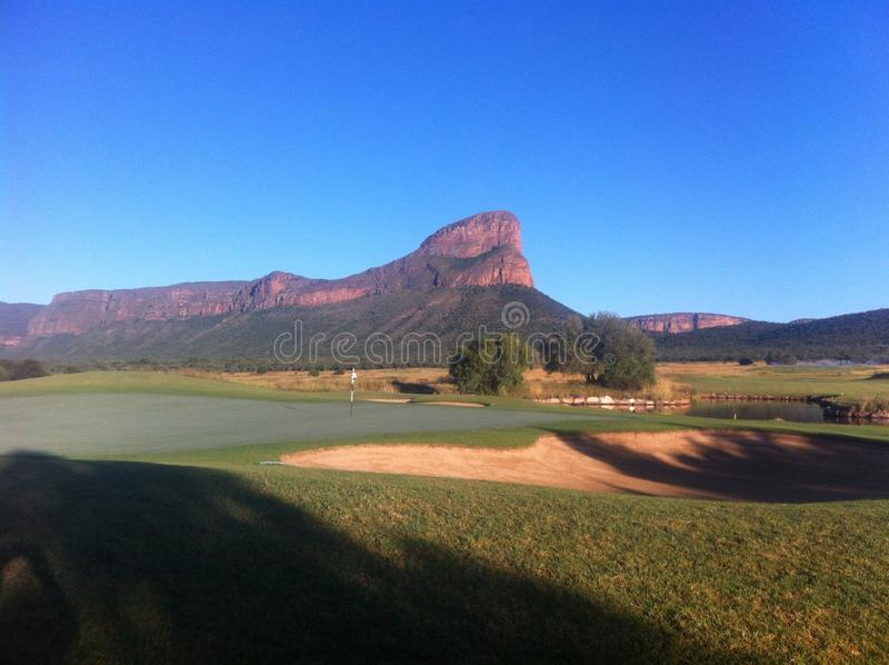 Legenden-Golf grob, Südafrika lizenzfreie stockfotografie