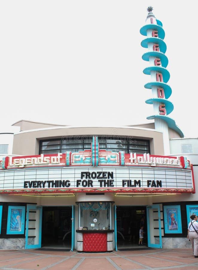 Legender av Hollywood inom Hollywood studior, Orlando, FL royaltyfri fotografi
