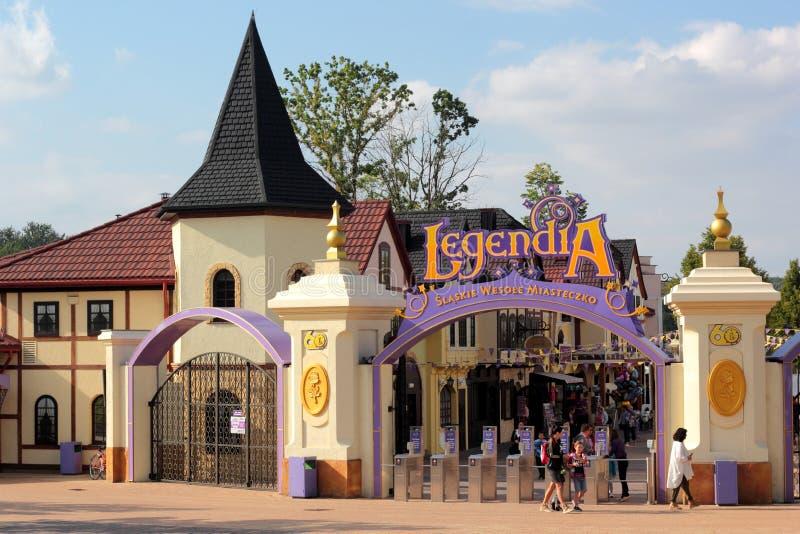 Legendia stock foto