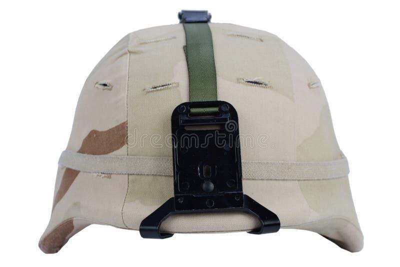 Leger kevlar helm royalty-vrije stock foto