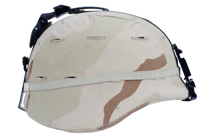 Leger kevlar helm stock afbeelding
