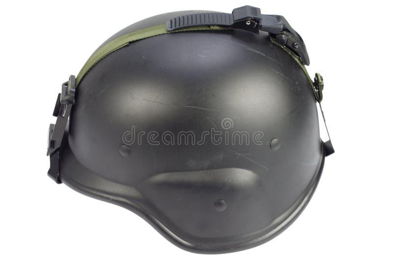 Leger kevlar helm royalty-vrije stock afbeeldingen