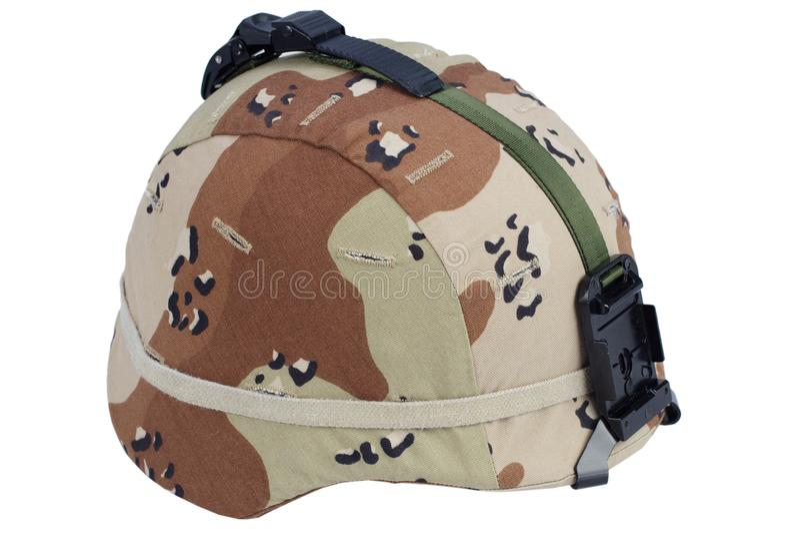Leger kevlar helm stock foto's