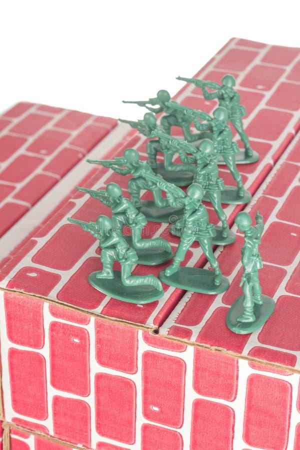 Download Legermensen Die Basis Bewaken Stock Foto - Afbeelding bestaande uit werkgever, figurine: 54091258