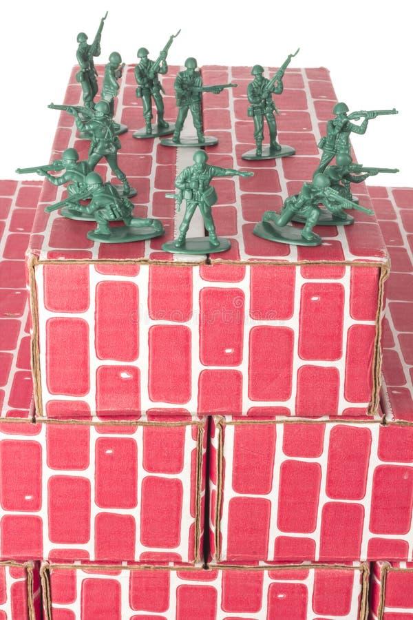 Download Legermensen Die Basis Bewaken Stock Foto - Afbeelding bestaande uit basis, rood: 54091498