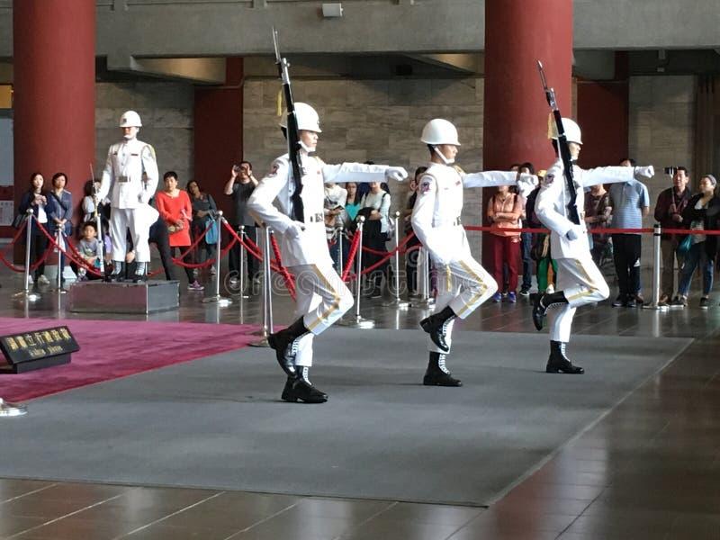 Legerparade in Taiwan royalty-vrije stock fotografie