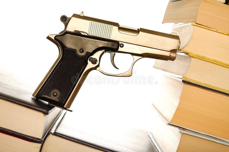 Legge della pistola fotografie stock