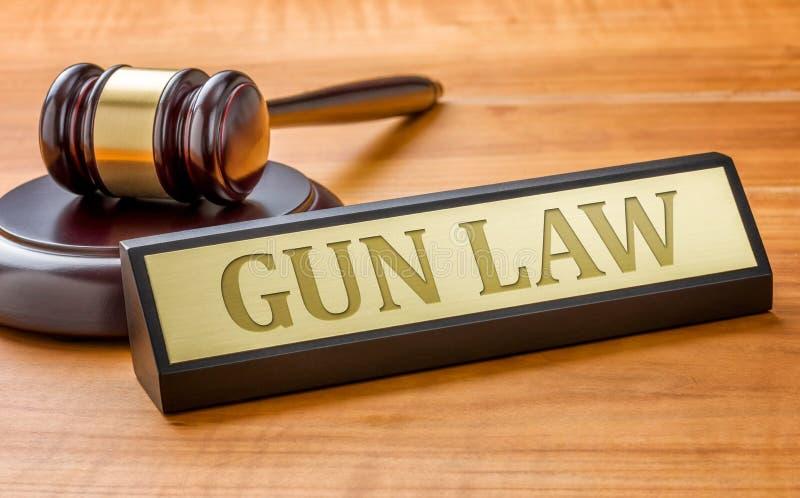 Legge della pistola fotografia stock libera da diritti
