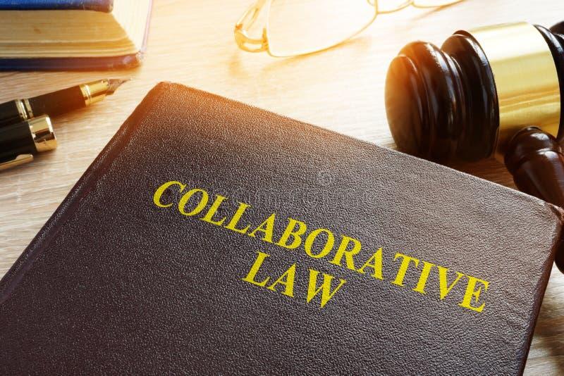 Legge di collaborazione o prassi, divorzio o diritto di famiglia di collaborazione immagine stock libera da diritti
