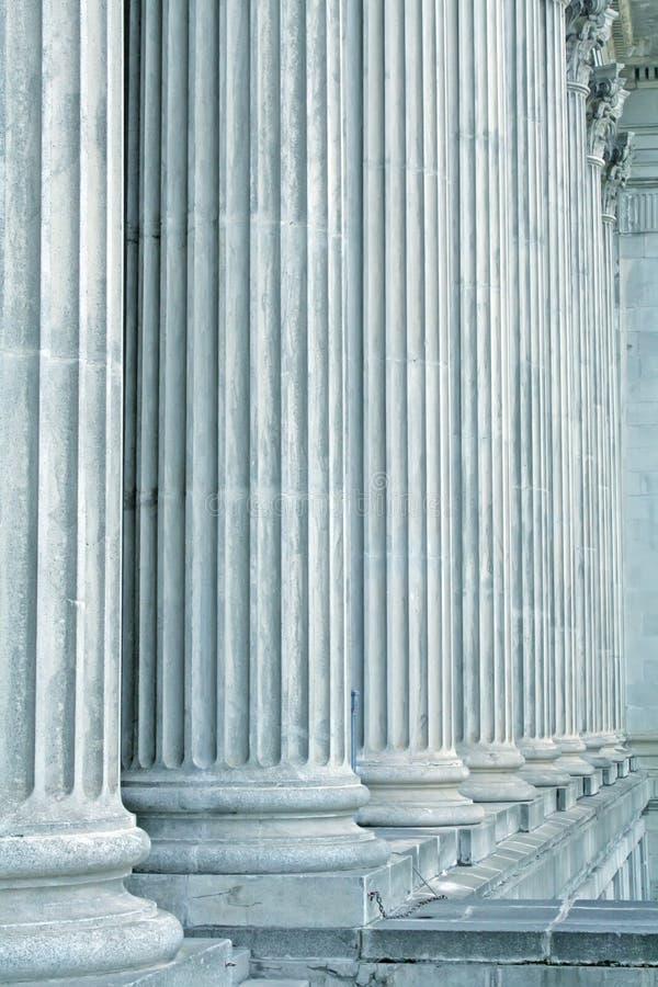 Legge ed ordine della giustizia immagine stock