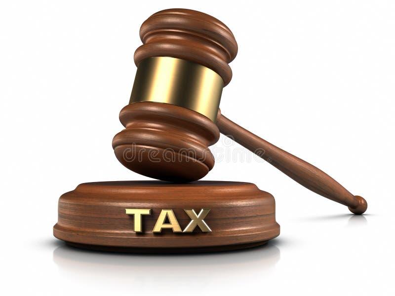 Legge fiscale illustrazione di stock
