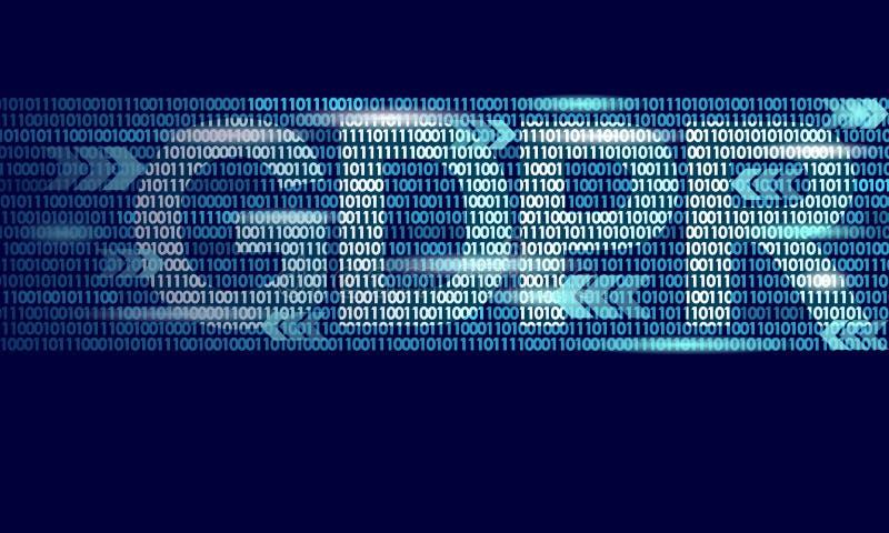 Legge GDPR di protezione dei dati di segretezza Unione Europea di sicurezza di informazione sensibile di regolamento di dati Dest royalty illustrazione gratis