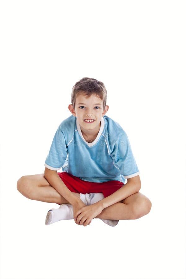 legged мальчика перекрестное стоковые фото