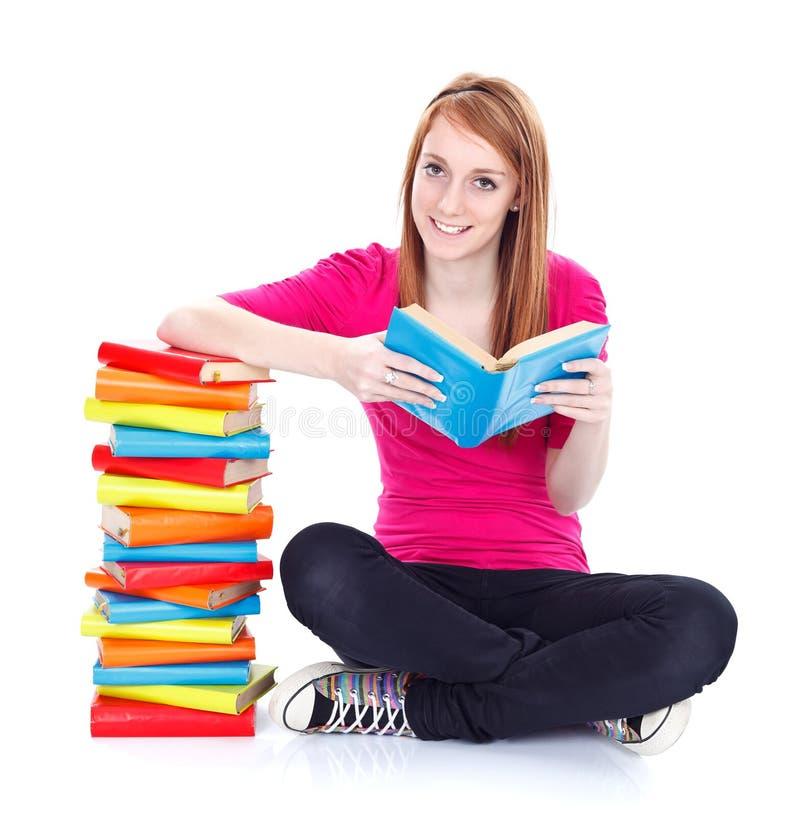 Leggiamo più! fotografia stock libera da diritti