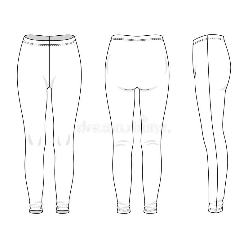 Leggings stock illustration