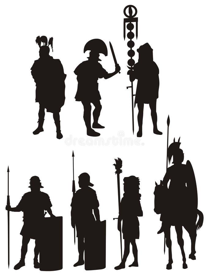 Legión stock de ilustración