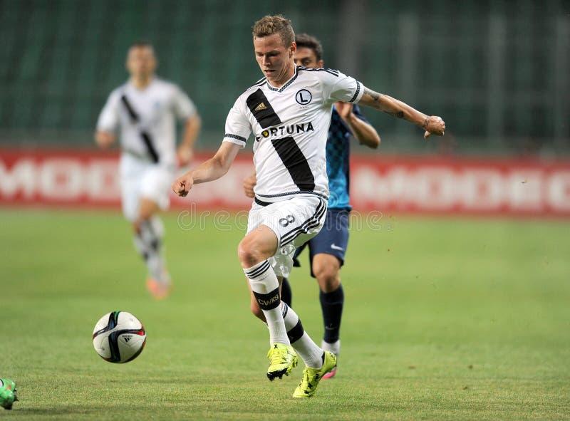 Legia Varsóvia - FC Botosani - qualificações da liga do Europa fotos de stock