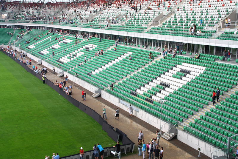 Legia Warsaw Stadium stock photos