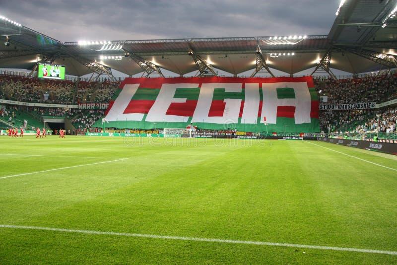 Download Legia Warsaw Stadium editorial stock image. Image of applause - 25885309