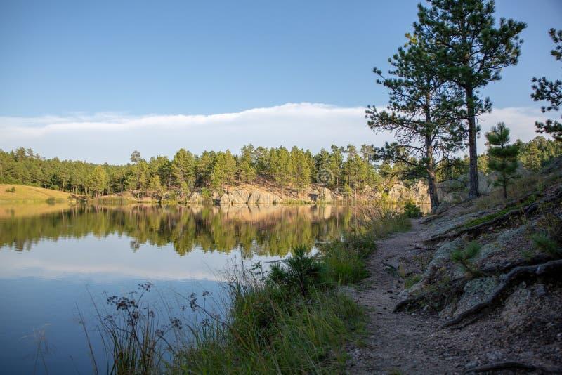 Legion湖Custer国家公园 库存图片
