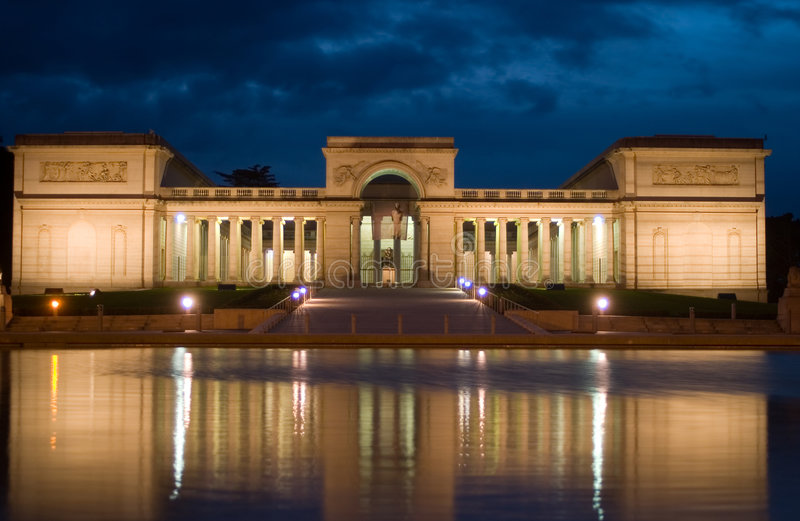 Legion of Honor Museum royalty free stock images