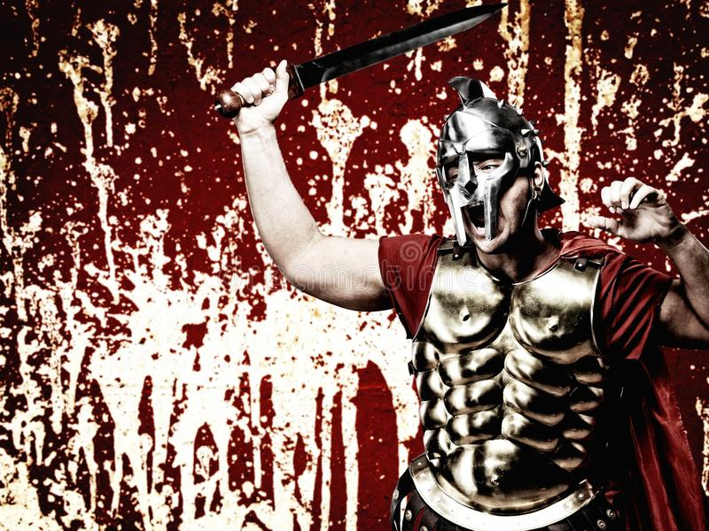 Download Legionary soldier stock image. Image of holding, fighter - 14673011