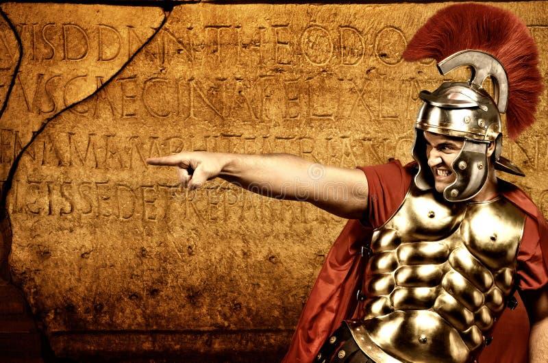 legionarysoldat royaltyfria bilder