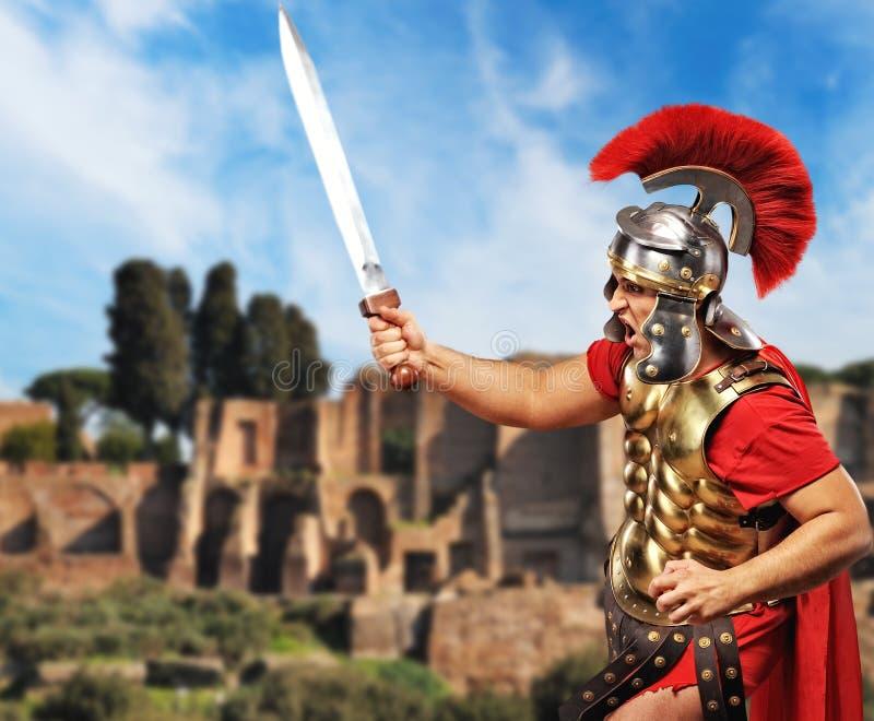 legionarysoldat arkivbild